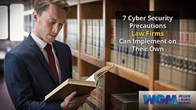 7 Cyber Security Precautions Law Firms Can Implement on Their Own eBook