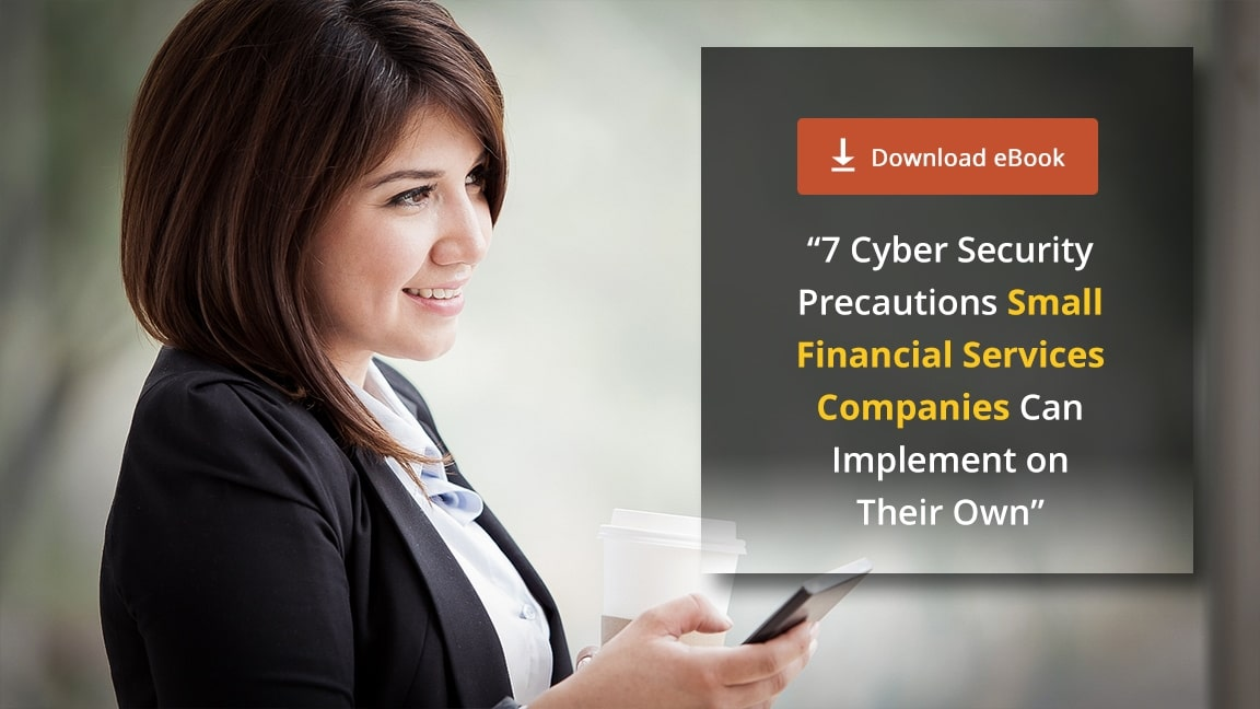[eBook] 7 Cyber Security Precautions for Financial Services Companies